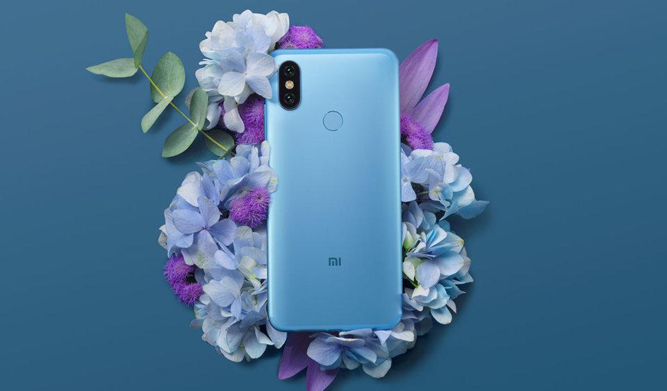 Mi 6X okostelefon 6+64GB, kék