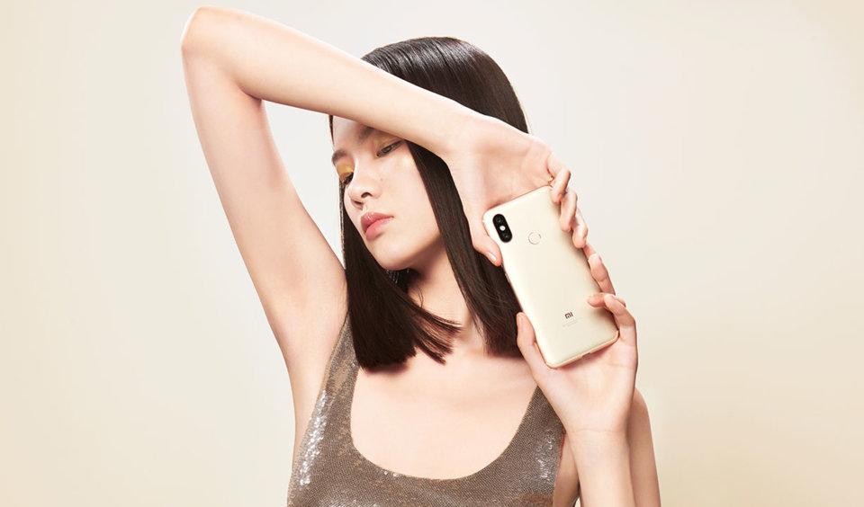 Mi 6X okostelefon 6+64GB, arany