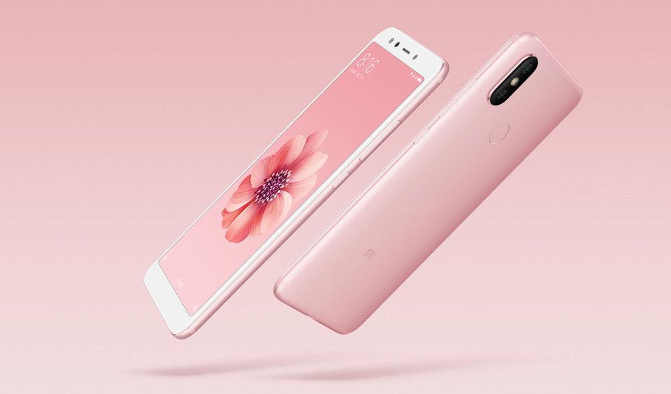 Mi 6X okostelefon 6+64GB, rozé-arany
