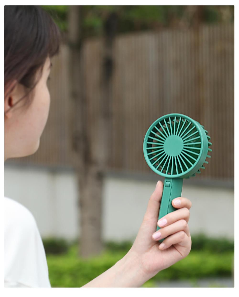 Xiaomi VH U hordozható kézi ventilátor, zöld