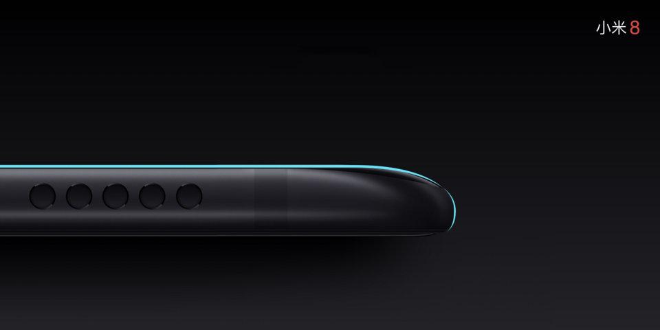 Mi 8 okostelefon 6+64GB, fekete
