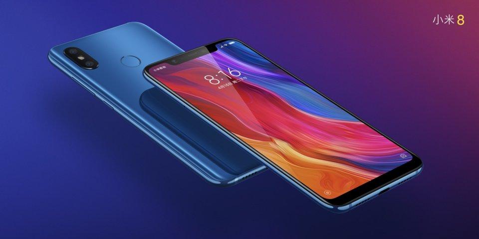 Mi 8 okostelefon 6+64GB, kék