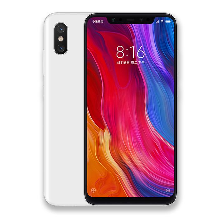Mi 8 okostelefon 6+64GB, fehér