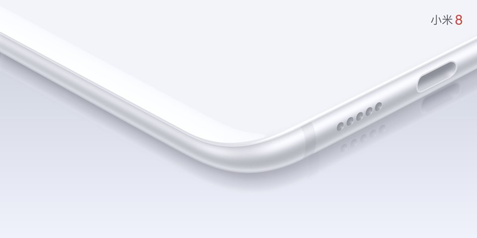 Mi 8 okostelefon 6+128GB, fehér