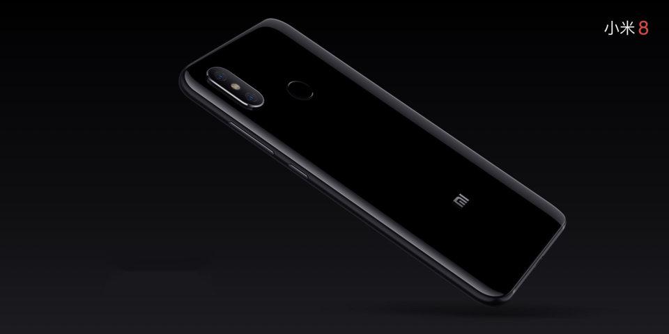 Mi 8 okostelefon 6+256GB, fekete