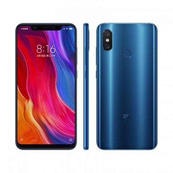 Mi 8 okostelefon 6+256GB, kék