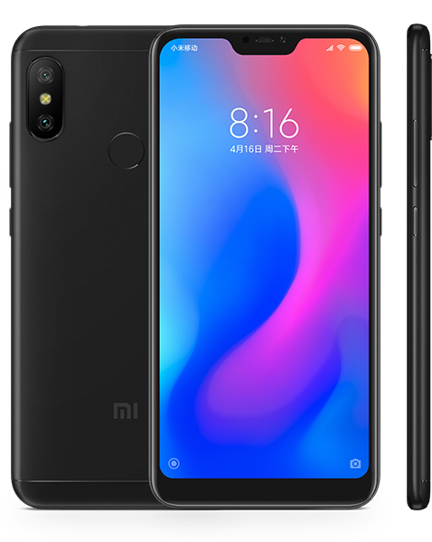 Redmi 6 Pro okostelefon - 3+32GB, fekete