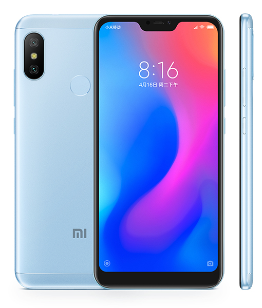 Redmi 6 Pro okostelefon - 3+32GB, kék