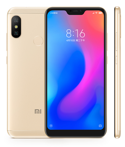 Redmi 6 Pro okostelefon - 4+32GB, arany