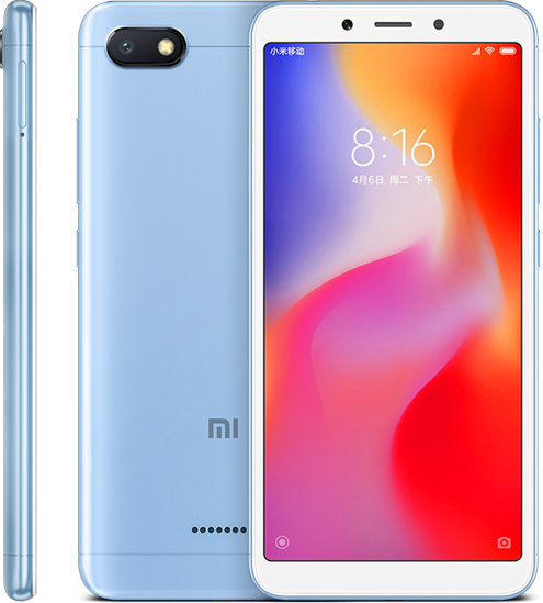 Redmi 6A okostelefon - 2+16GB, kék B20