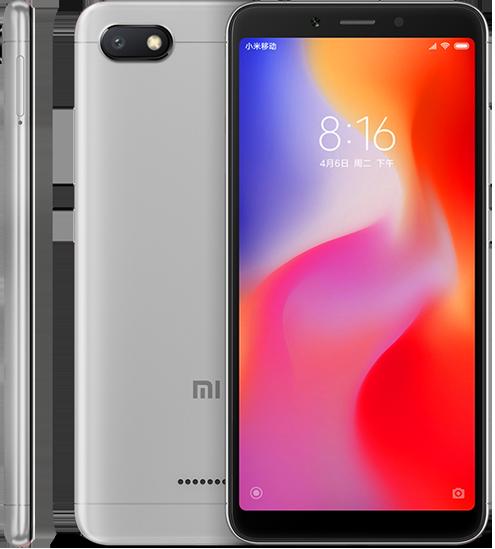 Redmi 6A okostelefon - 2+32GB, szürke