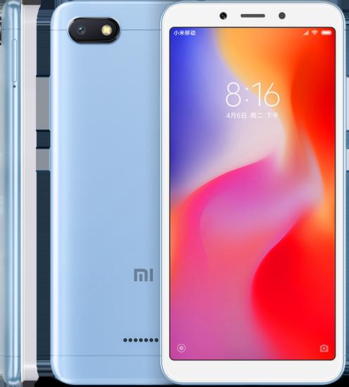 Redmi 6A okostelefon - 3+32GB, kék