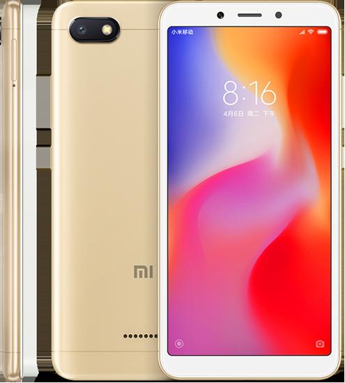 Redmi 6A okostelefon - 3+32GB, arany