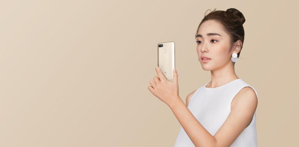 Redmi 6 okostelefon - 4+64GB, arany - B20