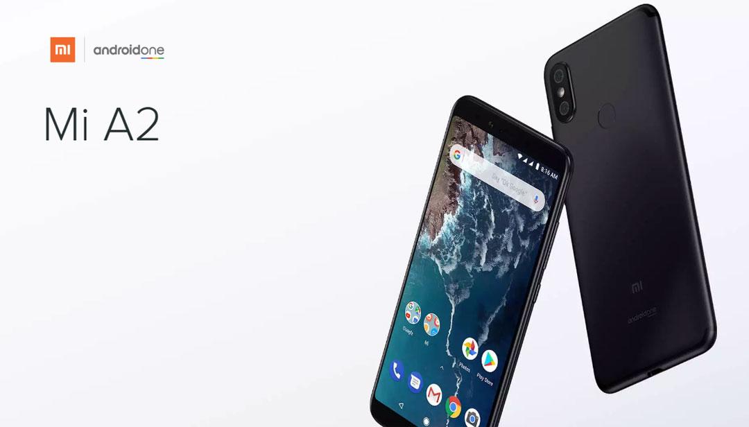 Mi A2 okostelefon - 4+32GB, fekete