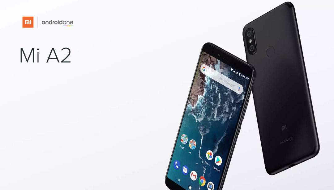 Mi A2 okostelefon - 4+64GB, fekete