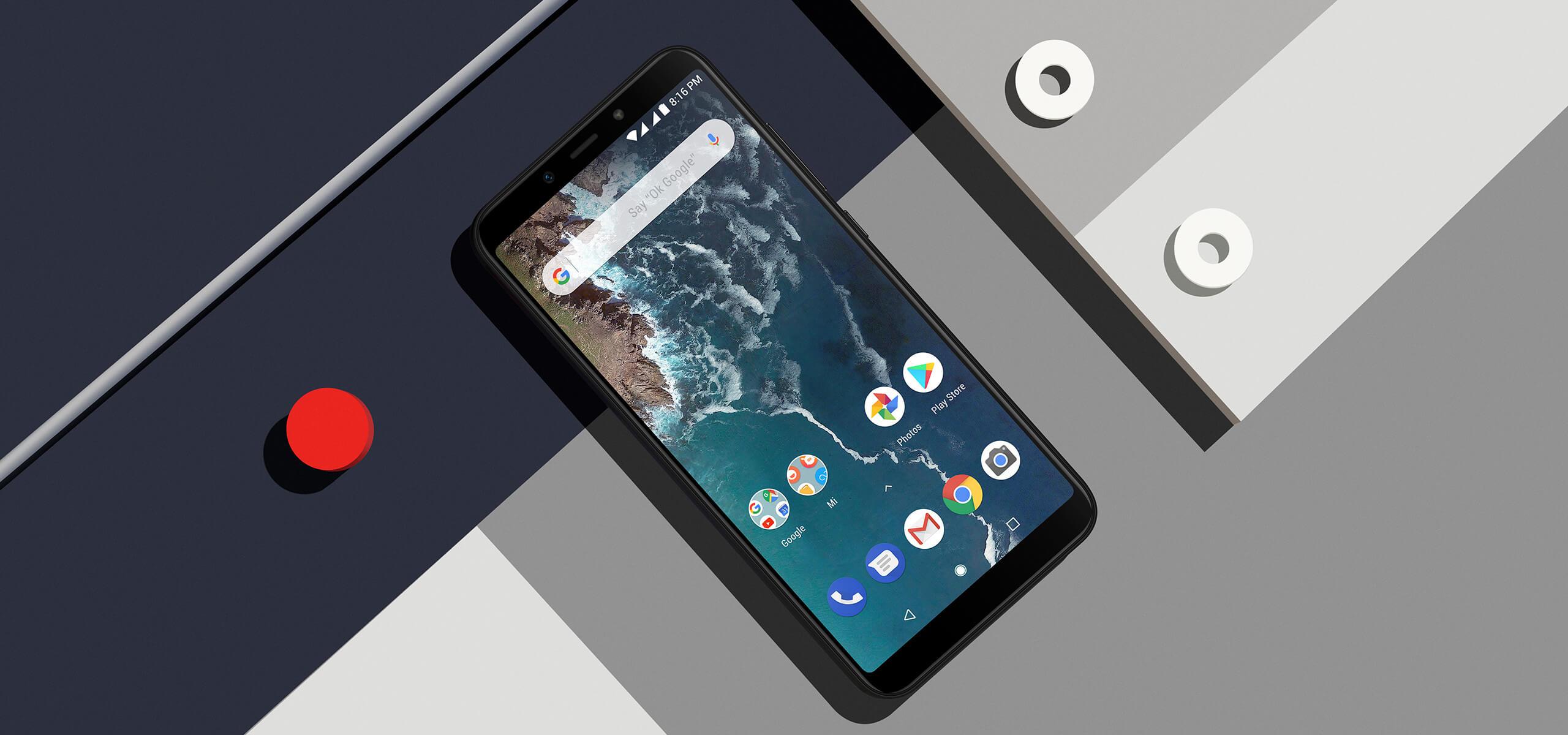 Smartphone Mi A2 - 4+64GB -  Neagră