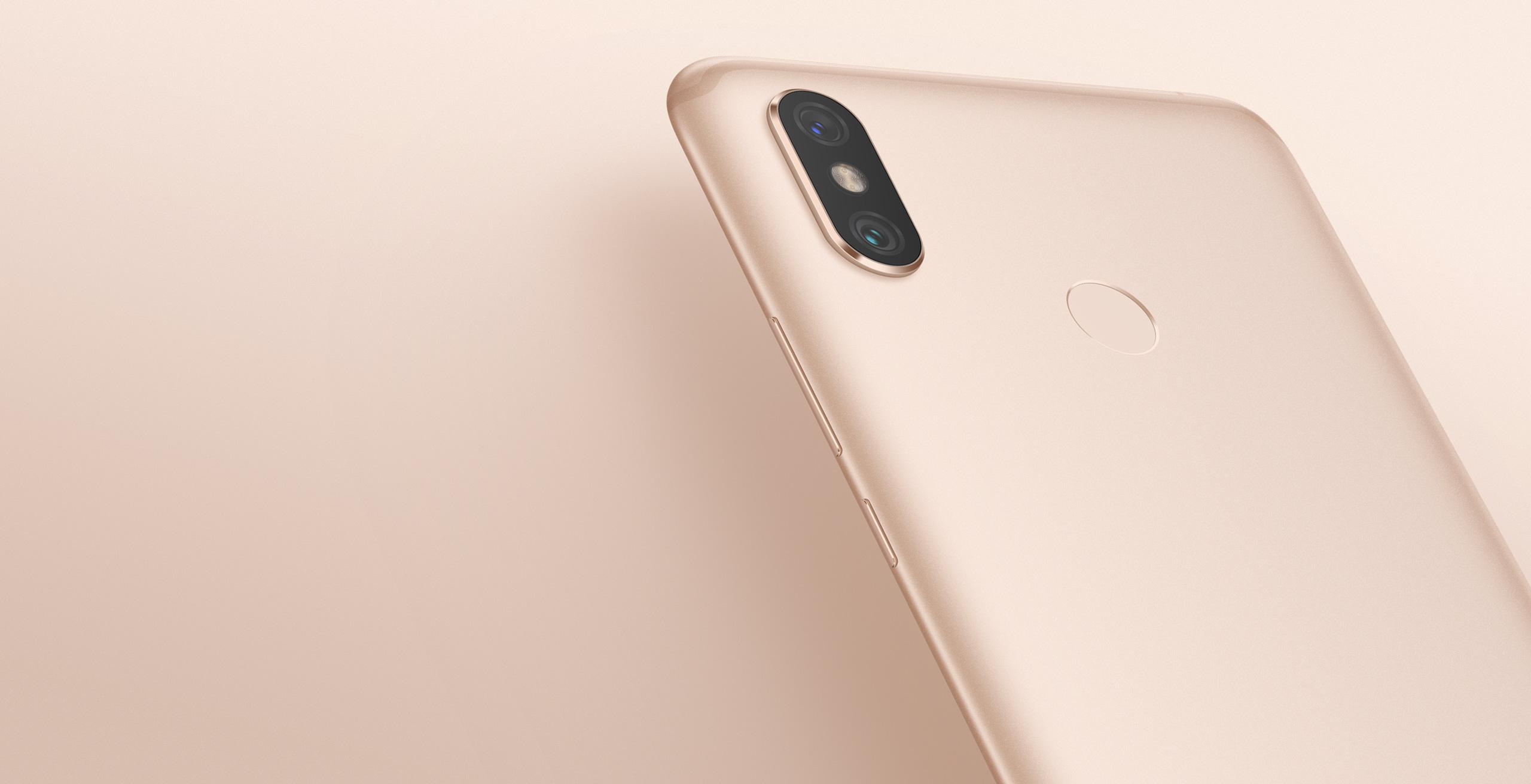 Mi Max 3 okostelefon - 4+64GB, rozé-arany