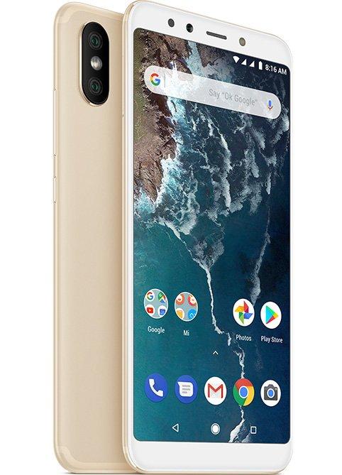 Mi A2 okostelefon - 4+32GB, arany