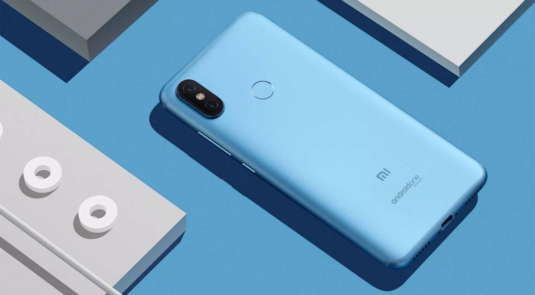 Mi A2 okostelefon - 4+32GB, kék