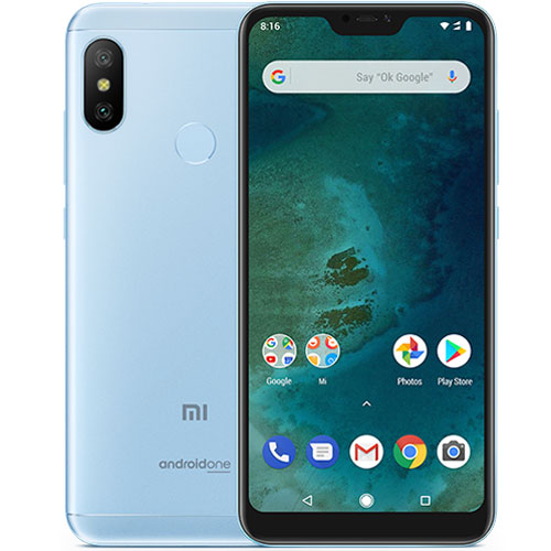 Mi A2 Lite okostelefon - 4+64GB, kék
