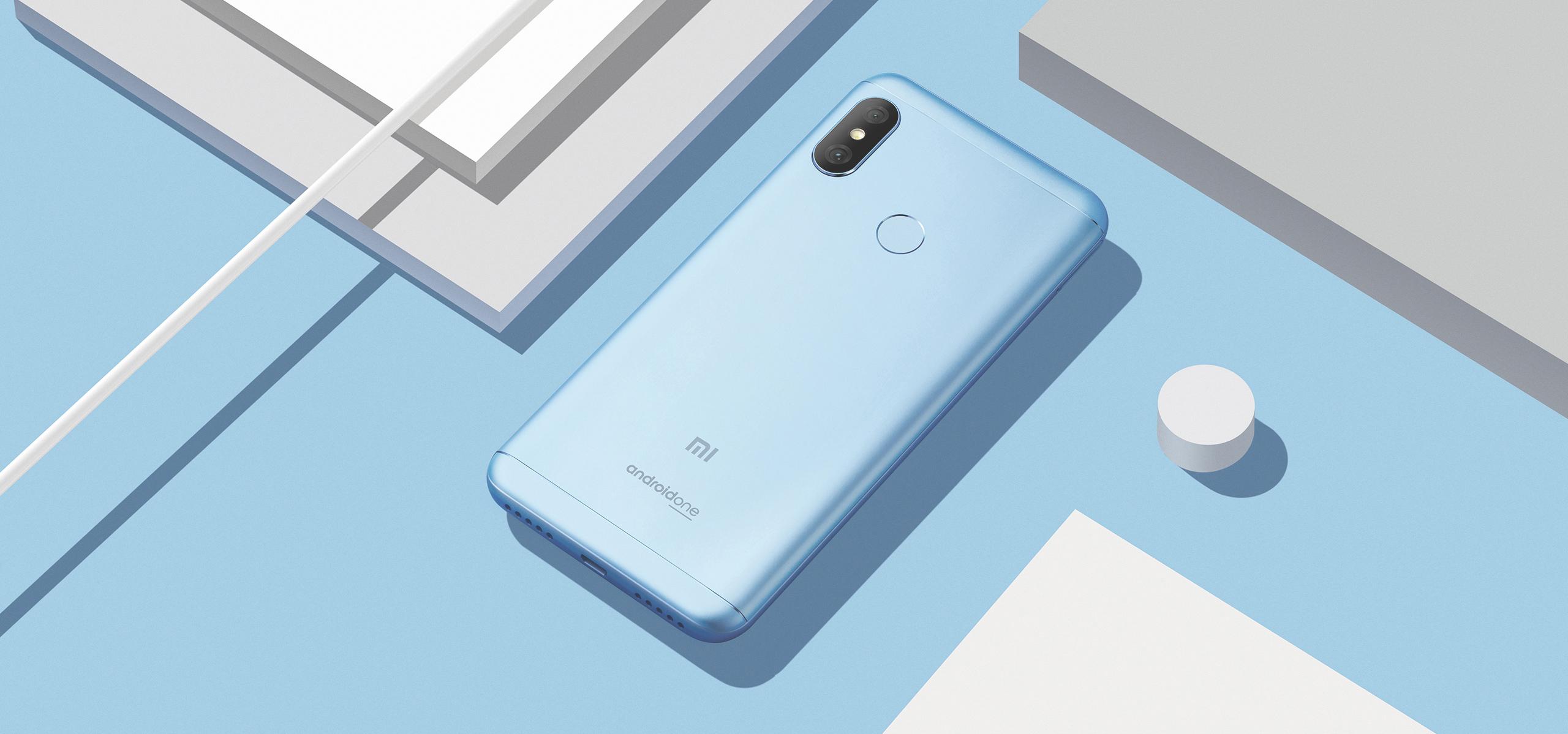 Smartphone Mi A2 Lite - 4+64GB -  Albastră
