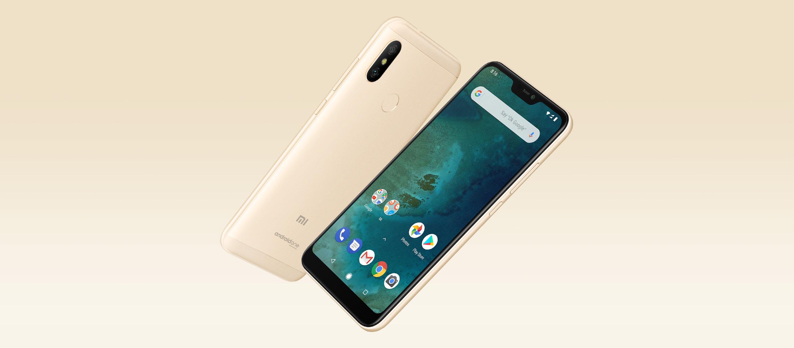 Smartphone Mi A2 Lite - 4+64GB - Auriu