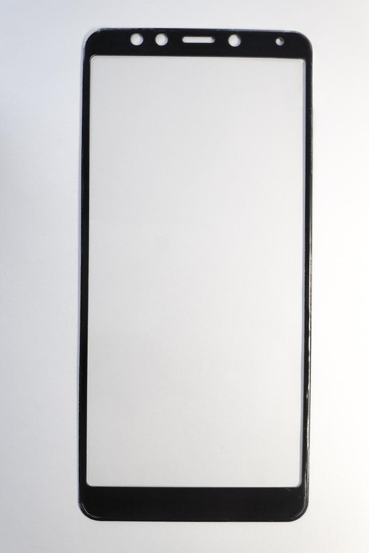 Redmi 5 Hybrid full 5D kijelzővédő üveg - fekete
