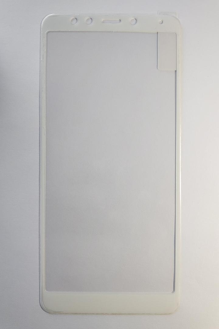Redmi 5 Hybrid full 5D kijelzővédő üveg - fehér