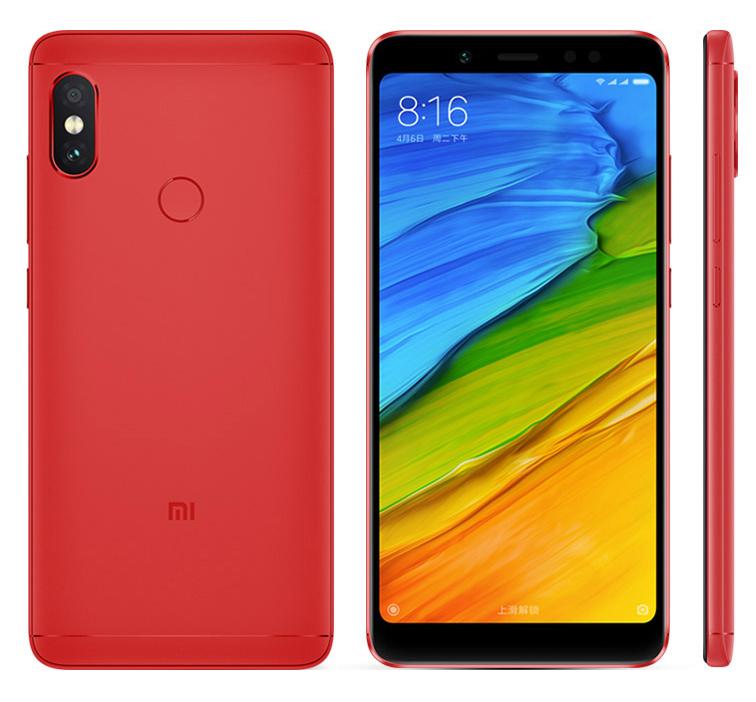 Redmi Note 5 okostelefon - 4+64GB, piros - B20