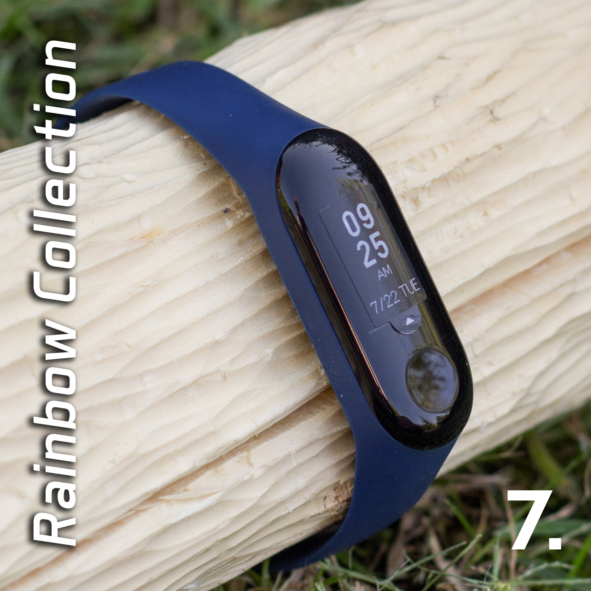Mi Band 3 szilikon pánt - Rainbow Collection 7