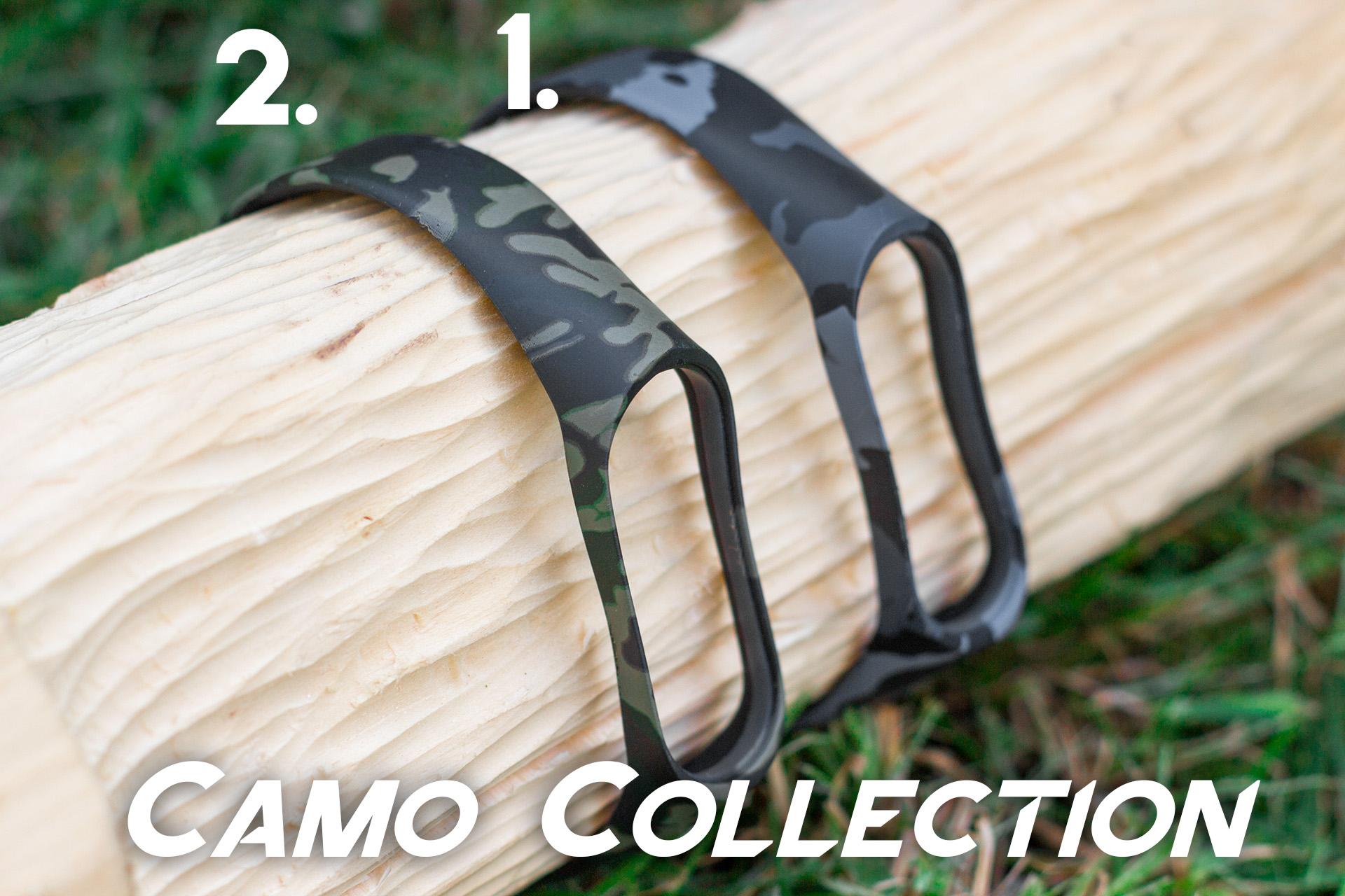 Mi Band 3 szilikon pánt - Camo 1