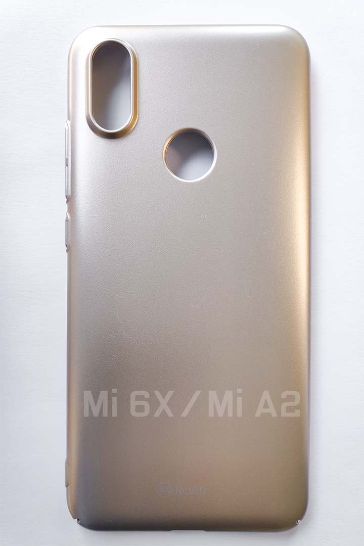 Mi A2 / Mi 6X DARKER kemény műanyag tok, arany