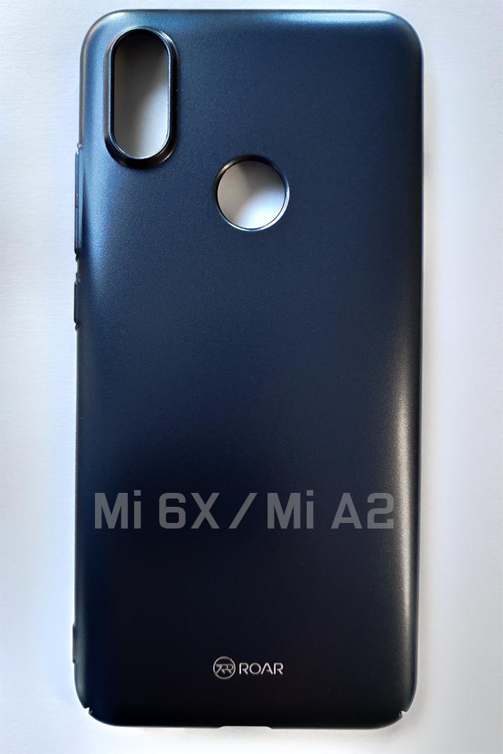 Mi A2 / Mi 6X DARKER kemény műanyag tok, kék