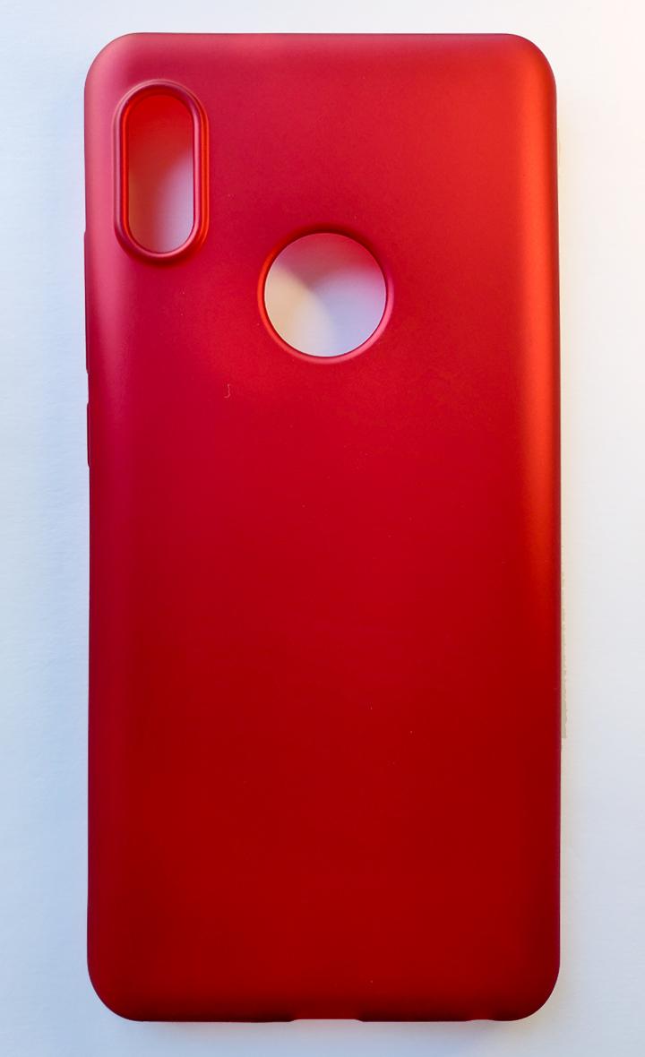 Redmi Note 5 / Note 5 pro szilikon tok, matt piros