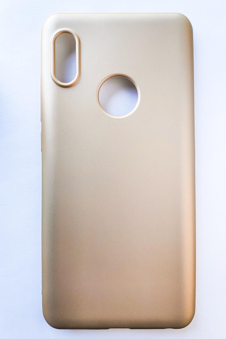 Redmi Note 5 / Note 5 pro szilikon tok, matt arany