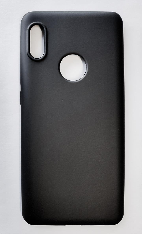 Redmi Note 5 / Note 5 pro szilikon tok, matt fekete