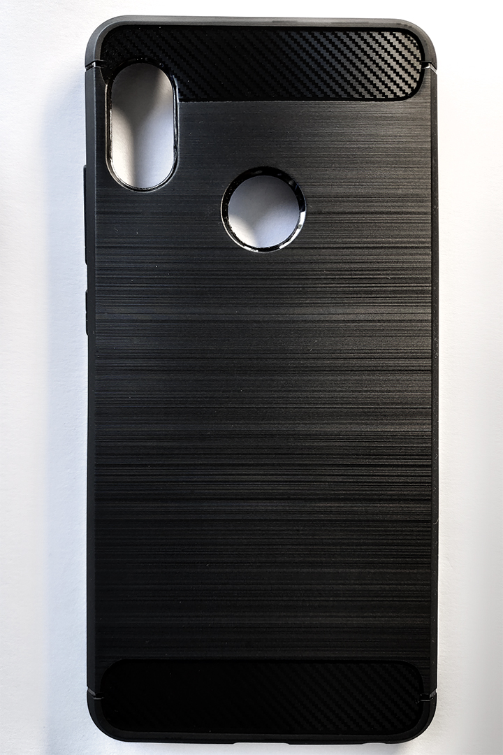 Redmi Note 5 / Note 5 Pro (Forcell) Carbon tok - fekete
