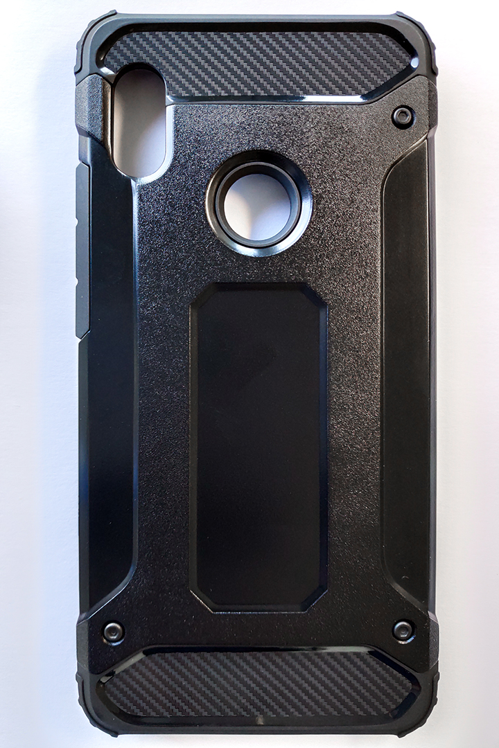 Redmi note 5 / Note 5 Pro (Forcell) Armor tok, fekete