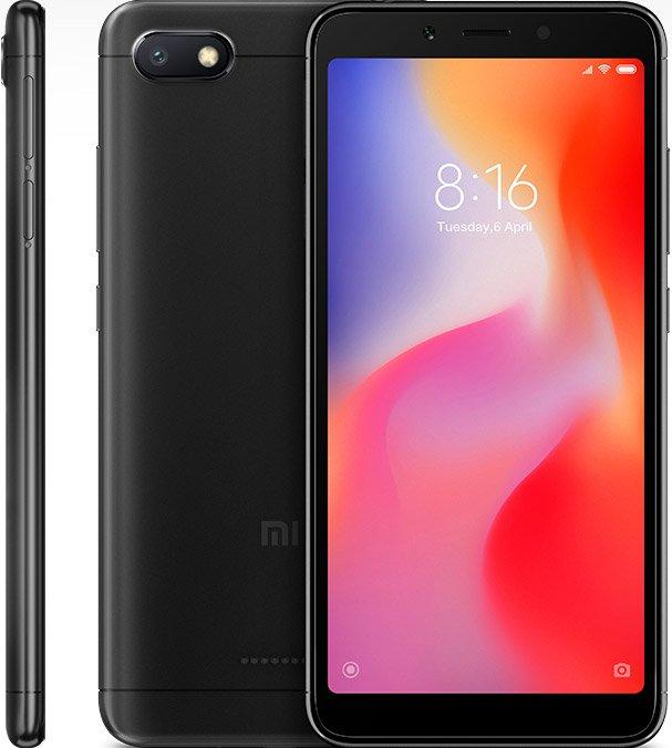 Redmi 6A okostelefon - 2+32GB, fekete - B20