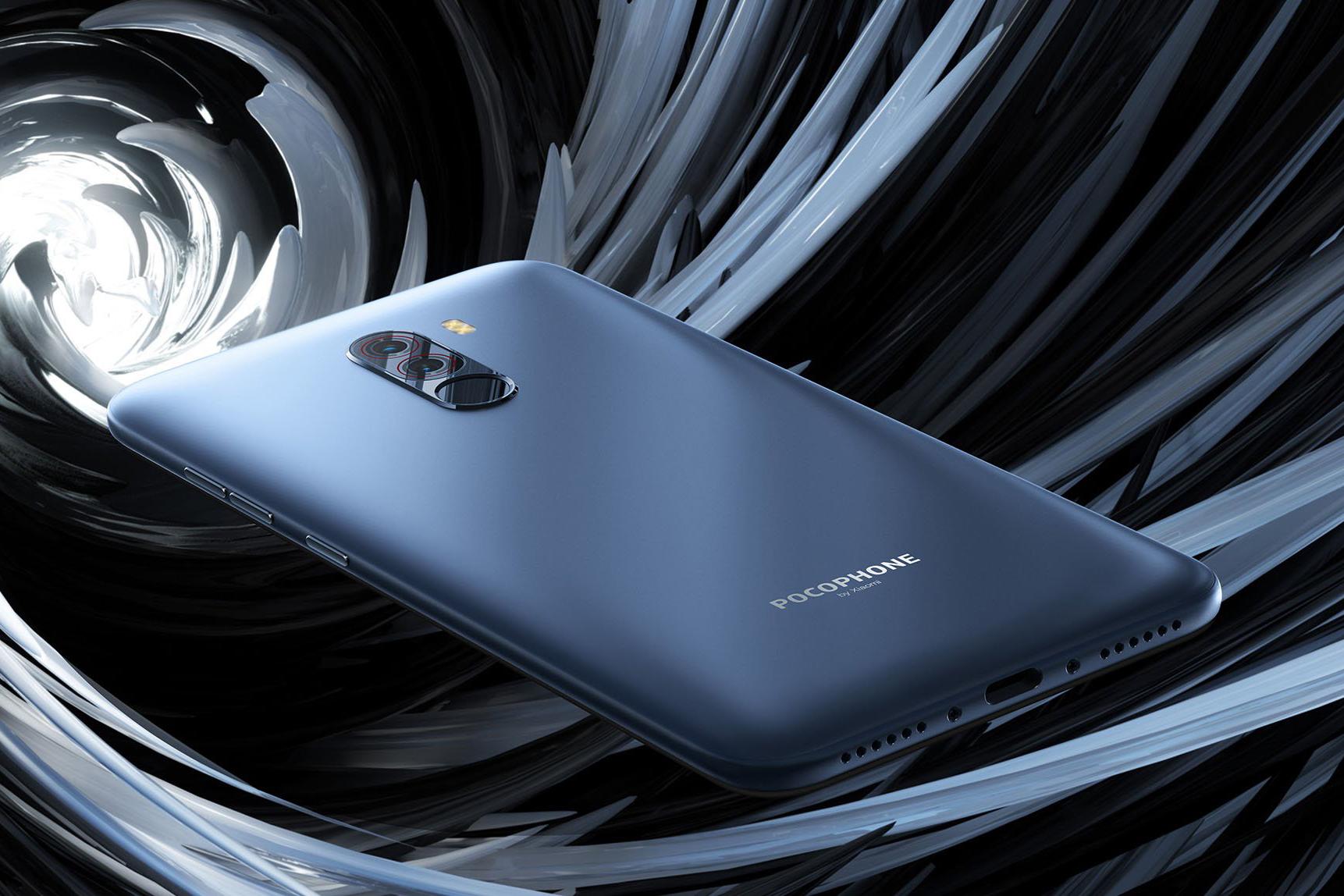 Smartphone Pocophone F1  - 6+64GB - Albastră