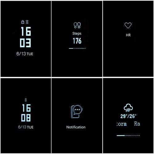 Mi Band 3 aktivitásmérő (Global változat), fekete