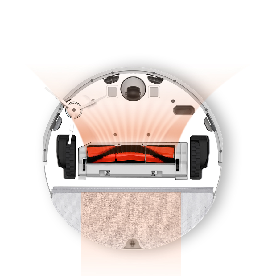 Xiaowa feltörlős robotporszívó (E20)