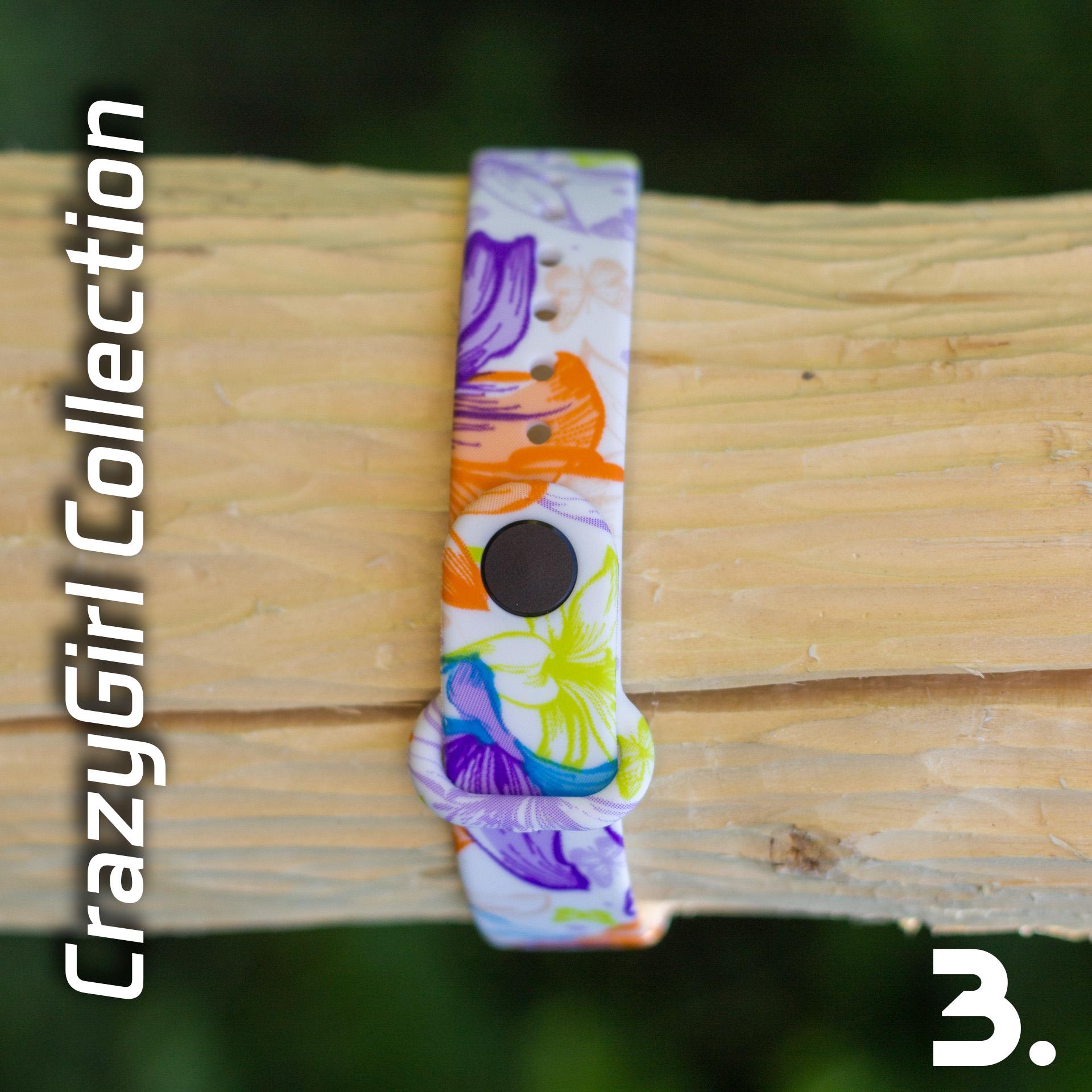Mi Band 3 szilikon pánt - CrazyGirl 3
