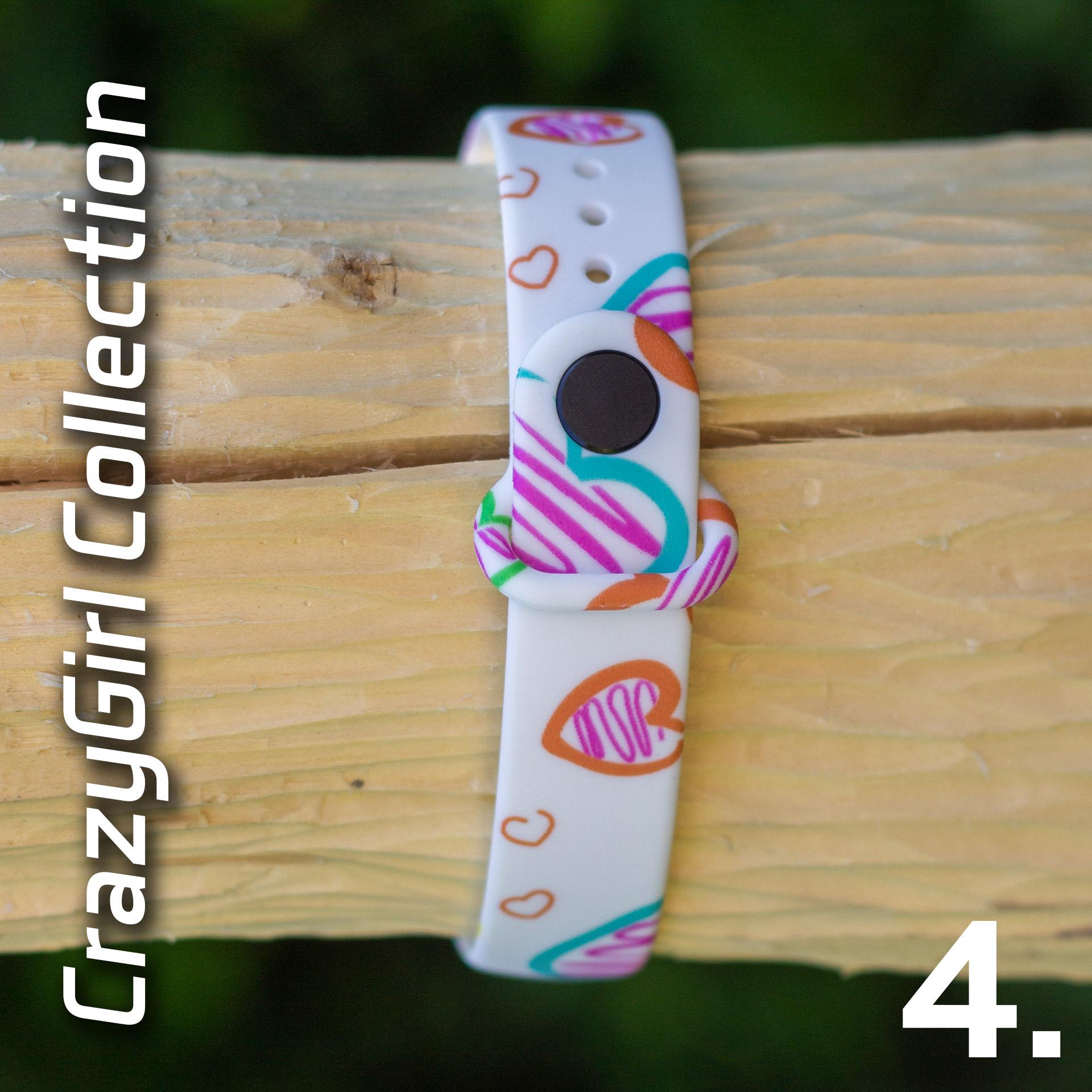 Mi Band 3 szilikon pánt - CrazyGirl 4