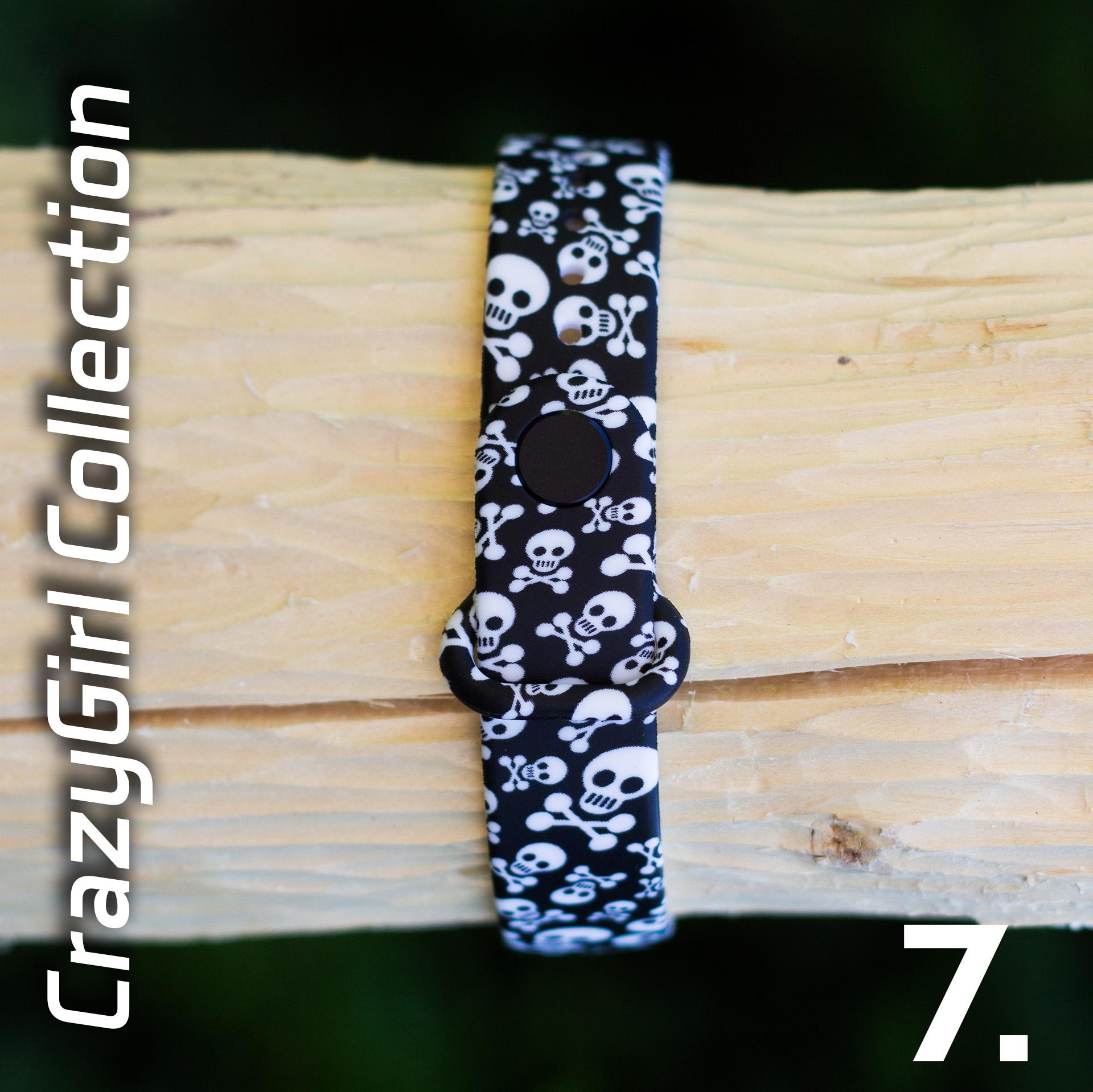 Mi Band 3 szilikon pánt - CrazyGirl 7