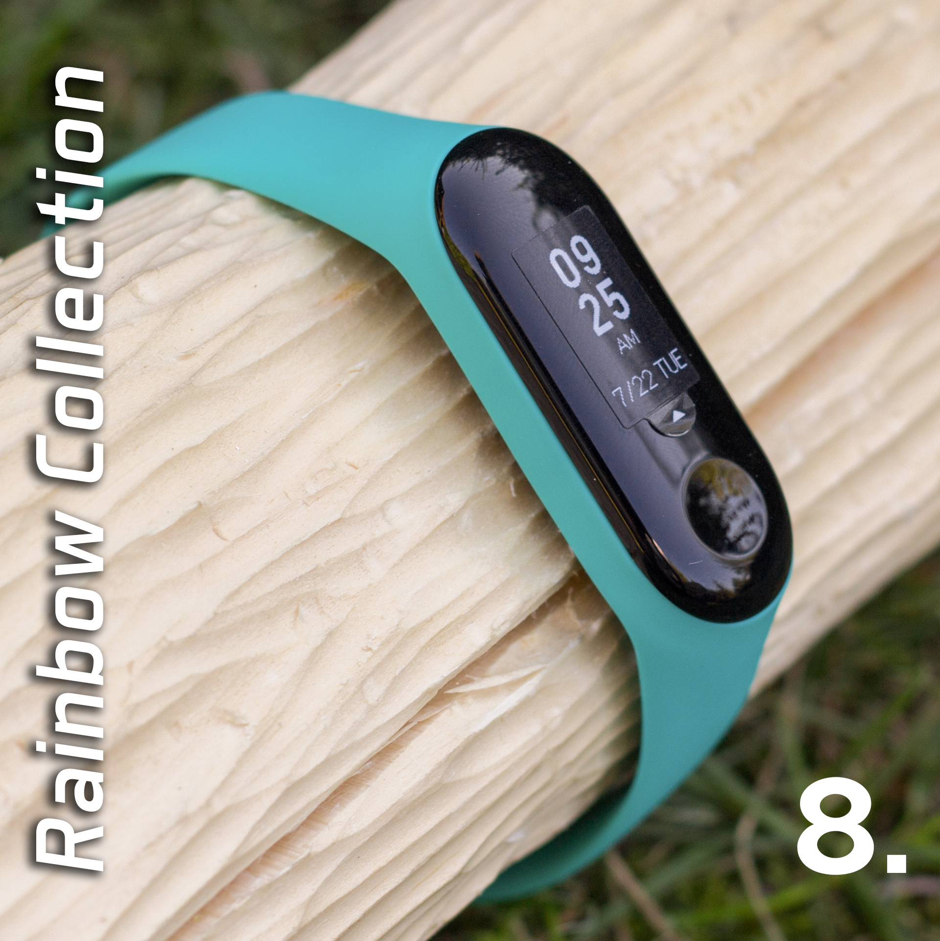 Mi Band 3 szilikon pánt - Rainbow Collection 8