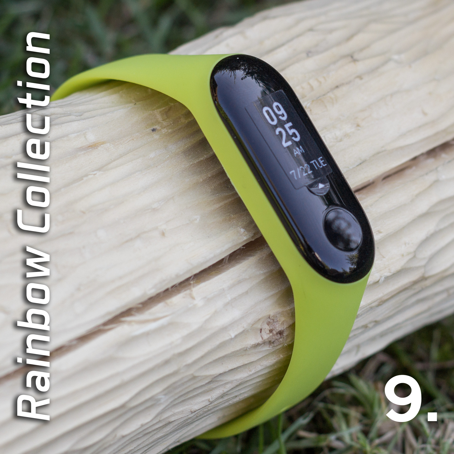 Mi Band 3 szilikon pánt - Rainbow Collection 9