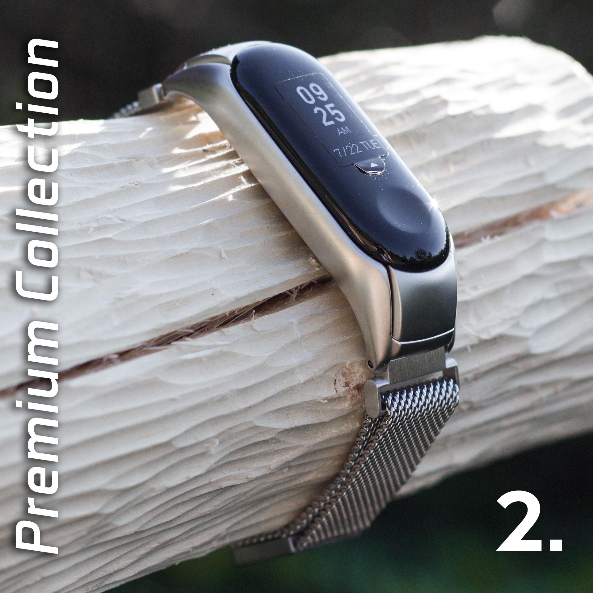 Mi Band 3 fém pánt - ezüst