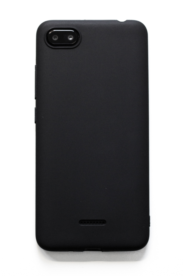 Redmi 6A szilikon tok (Forcell), fekete